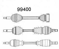 SPIDAN 99400 Сервис срочного ремонта, приводной вал
