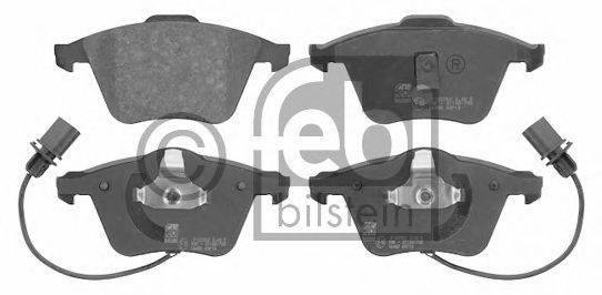 FEBI BILSTEIN 16455 Комплект тормозных колодок, дисковый тормоз
