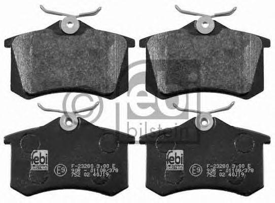 FEBI BILSTEIN 16457 Комплект тормозных колодок, дисковый тормоз