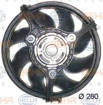 BEHR HELLA SERVICE 8EW351044041 Вентилятор, охлаждение двигателя