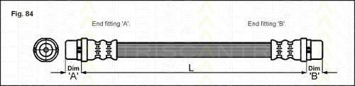 TRISCAN 815029119 Тормозной шланг