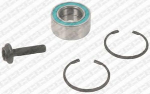 SNR R15714 Комплект подшипника ступицы колеса