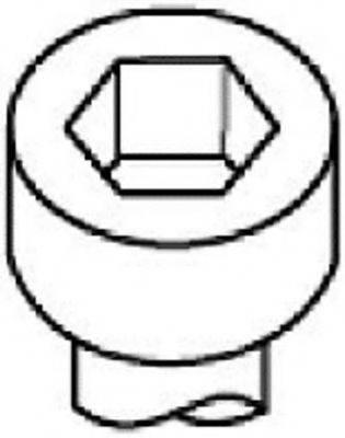 PAYEN HBS374 Комплект болтов головки цилидра