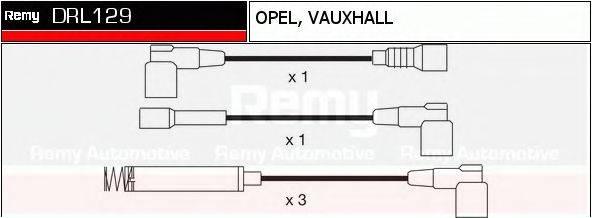 DELCO REMY DRL129 Комплект проводов зажигания