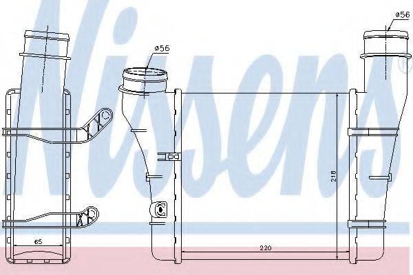 NISSENS 96707 Интеркулер