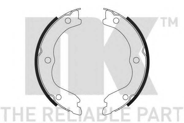 NK 2722719 Комплект тормозных колодок, стояночная тормозная система