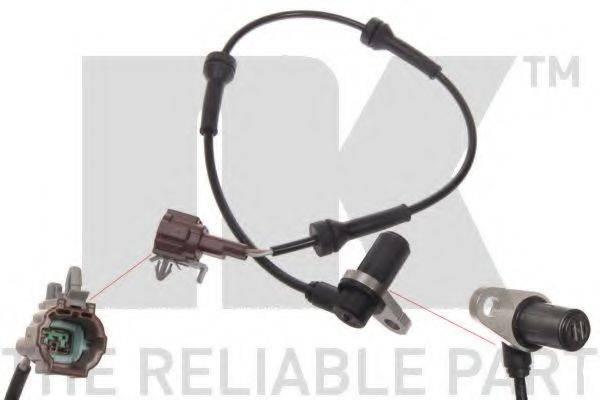 NK 292205 Датчик, частота вращения колеса