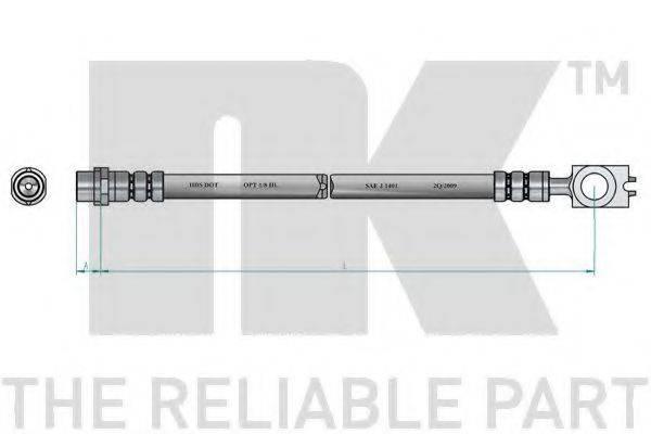 NK 8547112 Тормозной шланг