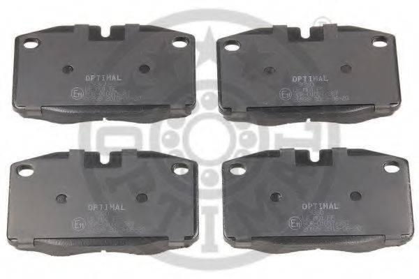 OPTIMAL 9360 Комплект тормозных колодок, дисковый тормоз