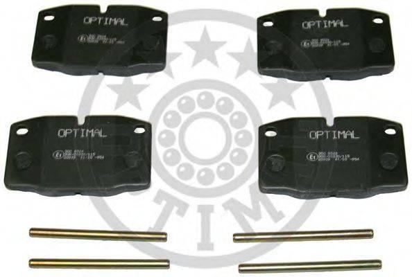 OPTIMAL 9524 Комплект тормозных колодок, дисковый тормоз