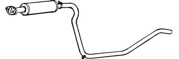 WALKER 17337 Средний глушитель выхлопных газов