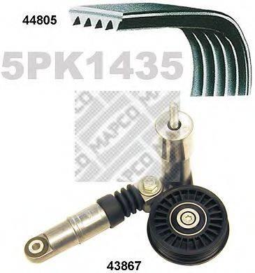 MAPCO 73805 Поликлиновой ременный комплект