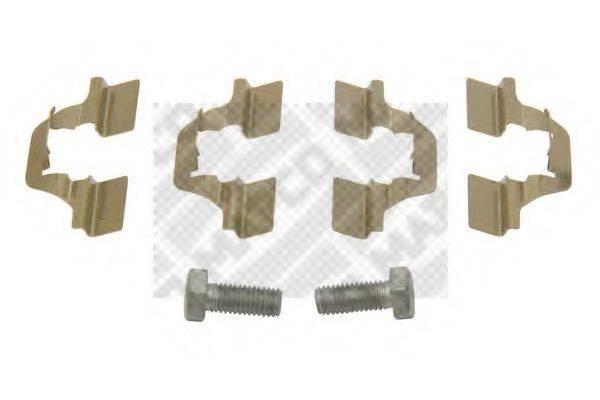 MAPCO 9311 Комплектующие, колодки дискового тормоза