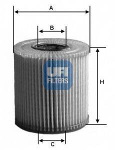 UFI 2501100 Масляный фильтр