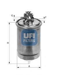 UFI 5542700 Топливный фильтр
