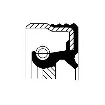CORTECO 12014523B Уплотняющее кольцо, коленчатый вал; Уплотняющее кольцо, ступенчатая коробка передач; Уплотняющее кольцо, раздаточная коробка