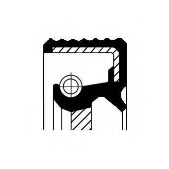 CORTECO 12016300B Уплотняющее кольцо, коленчатый вал; Уплотняющее кольцо, распределительный вал