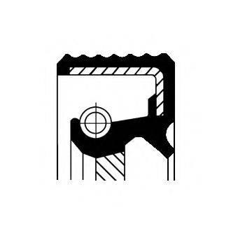 CORTECO 20033412B Уплотняющее кольцо, коленчатый вал