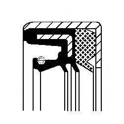 CORTECO 01019153B Уплотняющее кольцо, ступенчатая коробка передач