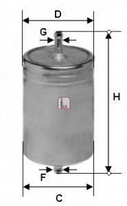SOFIMA S1611B Топливный фильтр