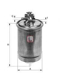 SOFIMA S4391NR Топливный фильтр