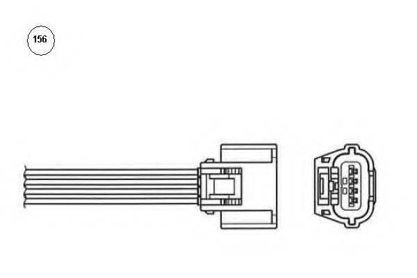 NGK 92653 Лямбда-зонд