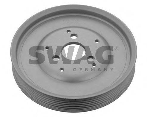 SWAG 30938643 Ременный шкив, насос гидроусилителя