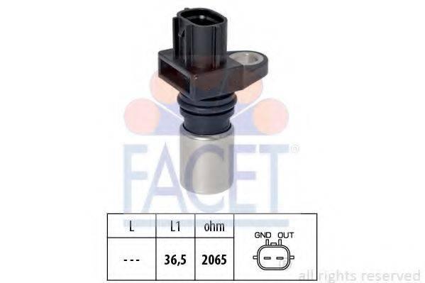 FACET 90417 Датчик импульсов; Датчик импульсов, маховик; Датчик, положение распределительного вала