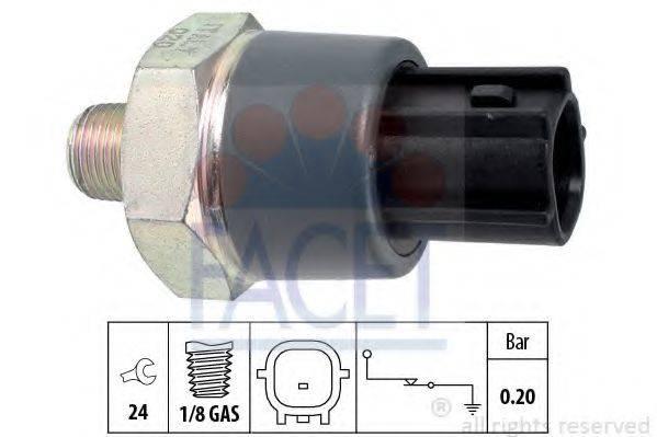 FACET 70166 Датчик давления масла