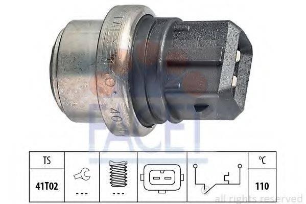 FACET 74095 термовыключатель, сигнальная лампа охлаждающей жидкости