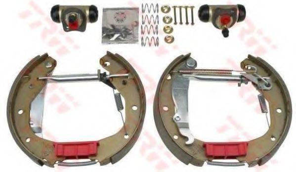 TRW GSK1609 Комплект тормозных колодок