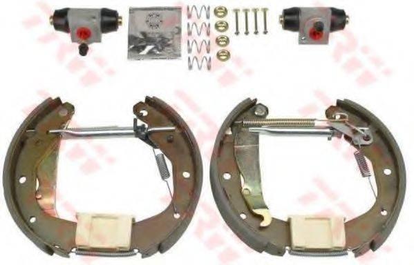 TRW GSK1621 Комплект тормозных колодок