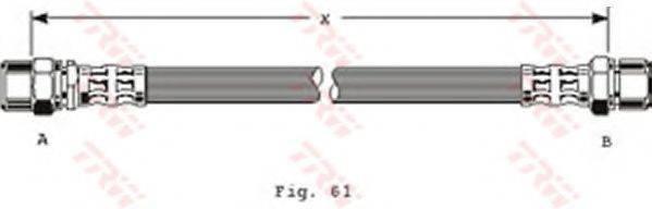 TRW PHA228 Тормозной шланг