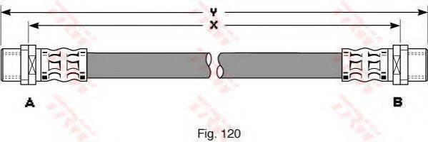 TRW PHA294 Тормозной шланг