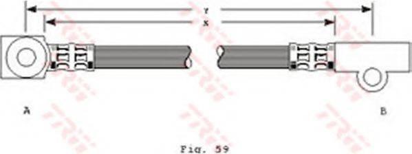 TRW PHD229 Тормозной шланг
