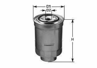 CLEAN FILTERS DN1913 Топливный фильтр