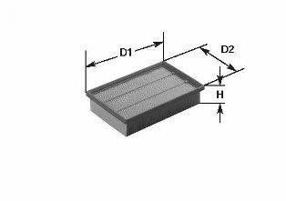 CLEAN FILTERS MA348 Воздушный фильтр