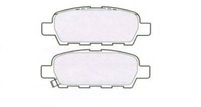 AISIN ASN2242 Комплект тормозных колодок, дисковый тормоз