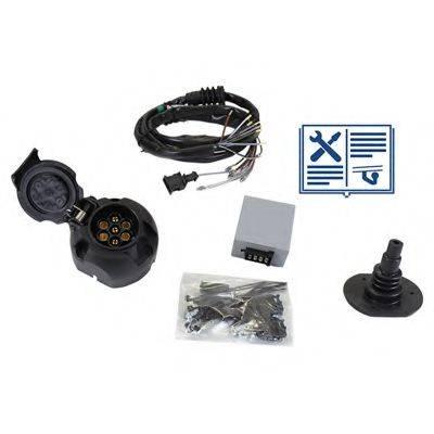 RAMEDER 107014 Комплект электрики, прицепное оборудование