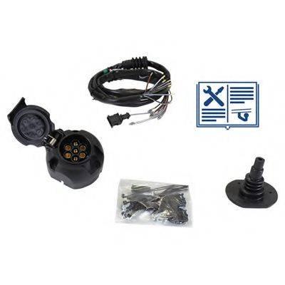 RAMEDER 107015 Комплект электрики, прицепное оборудование