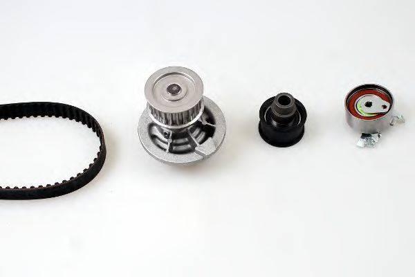 HEPU PK03160 Водяной насос + комплект зубчатого ремня