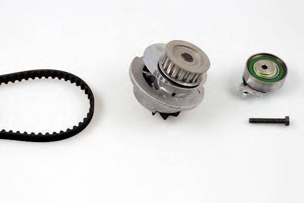 HEPU PK03880 Водяной насос + комплект зубчатого ремня