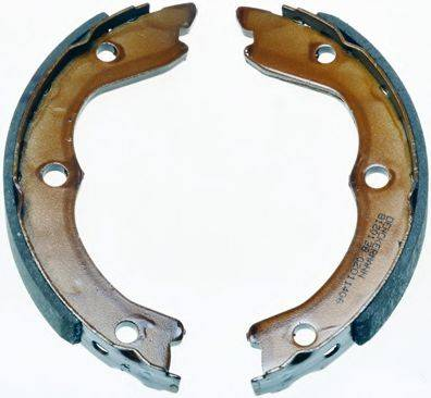 DENCKERMANN B120138 Комплект тормозных колодок