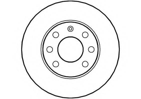 NATIONAL NBD004 Тормозной диск