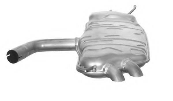 TESH 220901 Глушитель выхлопных газов конечный