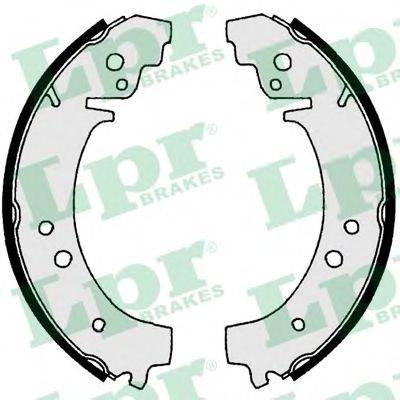 LPR 00730 Комплект тормозных колодок