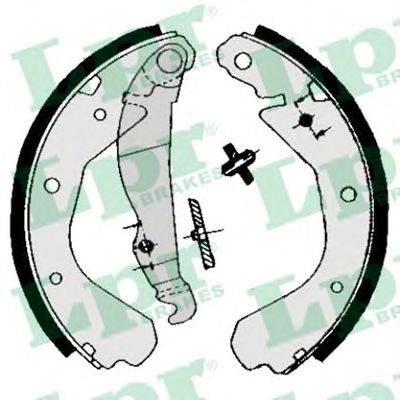 LPR 04660 Комплект тормозных колодок