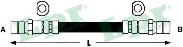 LPR 6T46118 Тормозной шланг