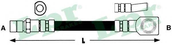 LPR 6T46159 Тормозной шланг
