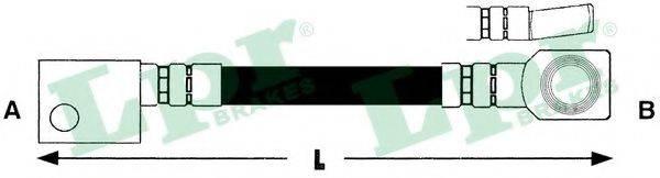 LPR 6T46152 Тормозной шланг